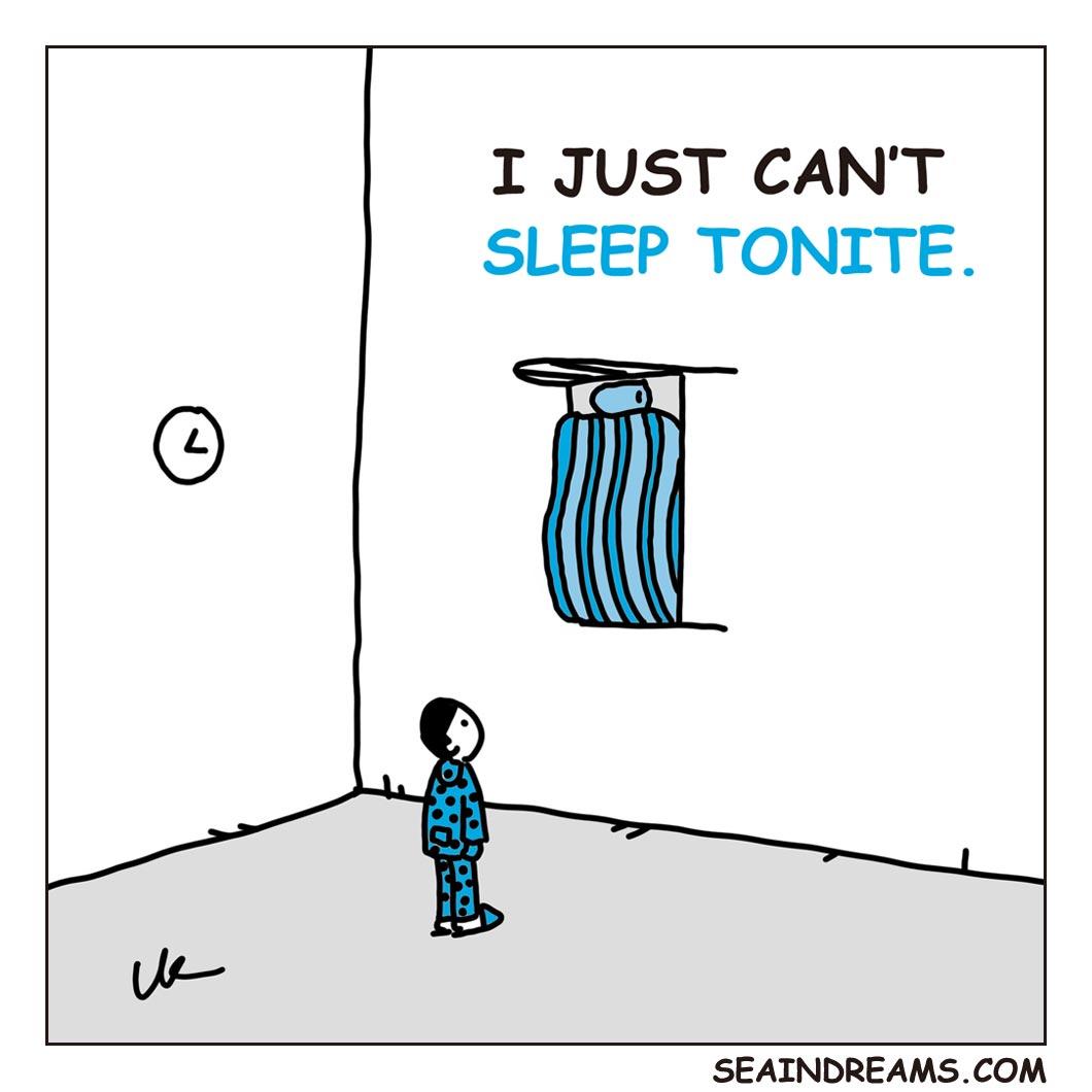 I just can't sleep tonight   seaindreams.com comics