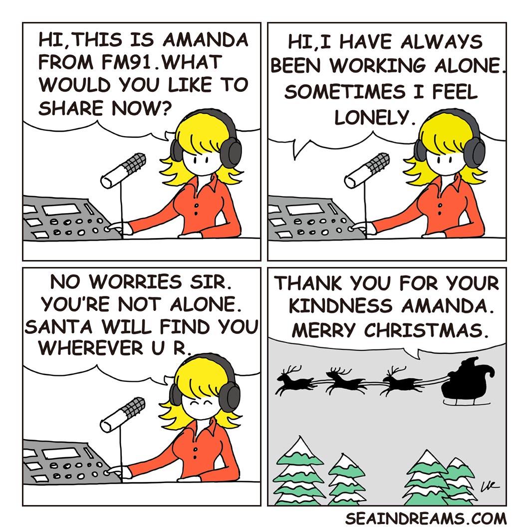 Radio On-Air   seaindreams.com comics