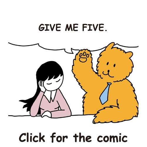 High Five   seaindreams.com comics